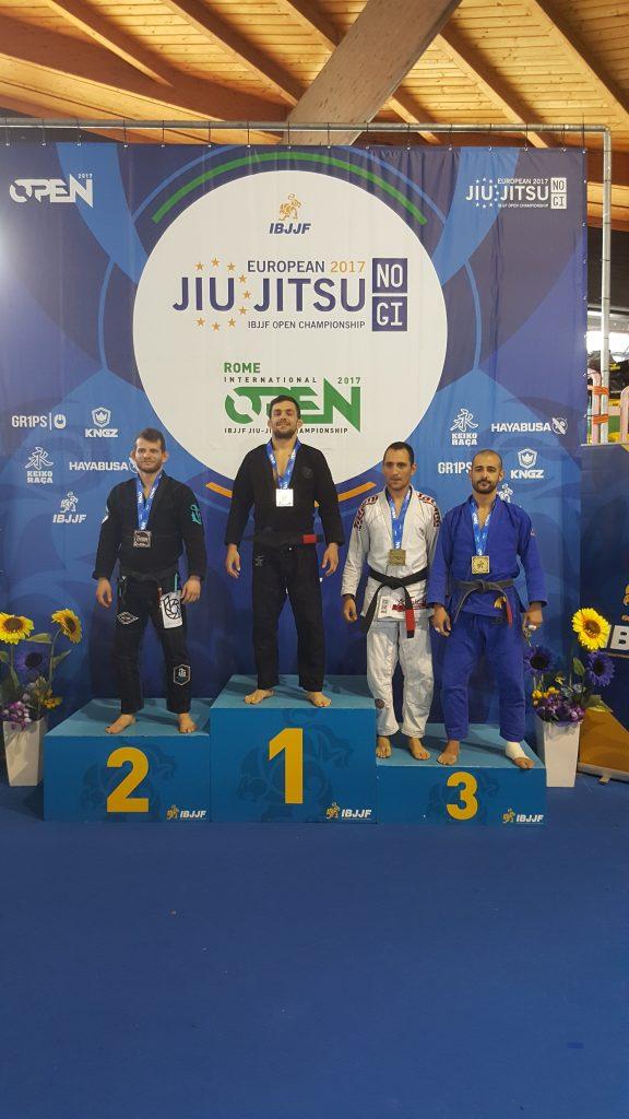 Κωνσταντίνος Νικολόπουλος Ρώμη 2017 Ευρωπαικό Πρωτάθλημα BJJ